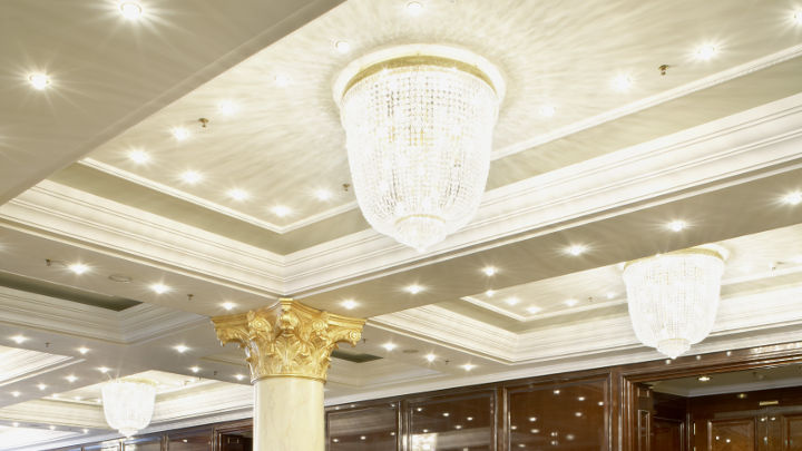 Illuminazione a soffitto di Philips al Ritz-Carlton a Berlino