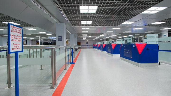 Philips Lighting illumina il Terminal 2 dell'aeroporto di Manchester