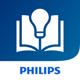 Icona dell'app Catalogo Philips Lighting