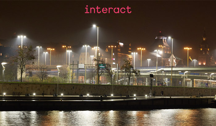 Interact City, illuminazione urbana più intelligente e vivibile