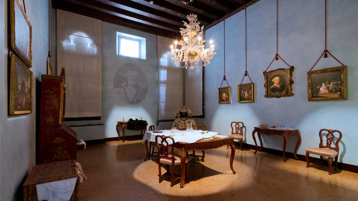 Museo Goldoni Venezia LED